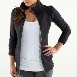 Lululemon Black Contempo Jacket, sz 12